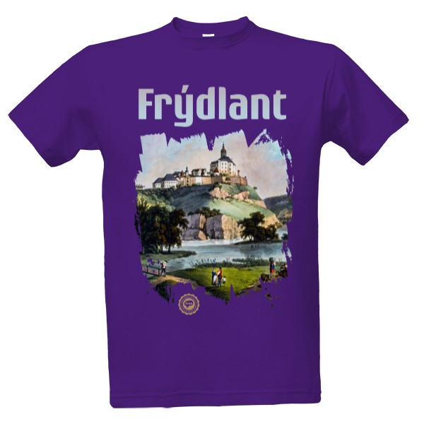 Frýdlant 002 / Purple T-shirt